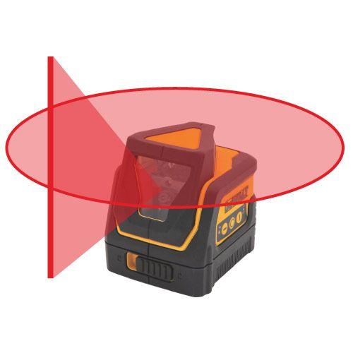 Čárový a křížový laser 360° DW0811