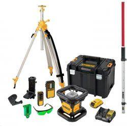 Sada rotačního laseru 18 V DCK379D1G